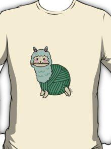 Yarn Alpaca - Green T-Shirt
