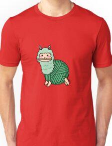 Yarn Alpaca - Green Unisex T-Shirt