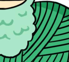 Yarn Alpaca - Green Sticker