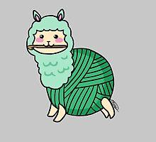 Yarn Alpaca - Green by Casey Sunshine