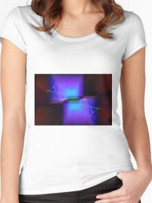 Travel By Cube Women's Fitted Scoop T-Shirt