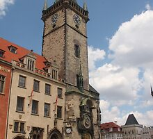 Prague Old Town Hall by Elena Skvortsova