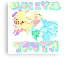 Blue Eye's Truth Canvas Print