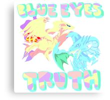 Blue Eye's Truth Canvas Print