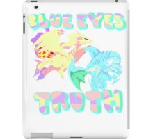 Blue Eye's Truth iPad Case/Skin