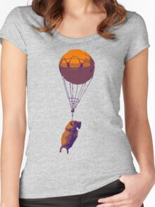 Flying Goat Women's Fitted Scoop T-Shirt