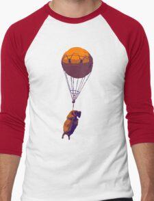 Flying Goat Men's Baseball ¾ T-Shirt