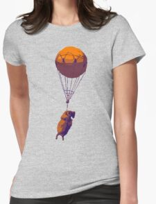 Flying Goat Womens Fitted T-Shirt