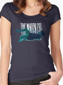 The Water[z] Women's Fitted Scoop T-Shirt