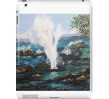 Spouting Horn....Up Close &Personal iPad Case/Skin