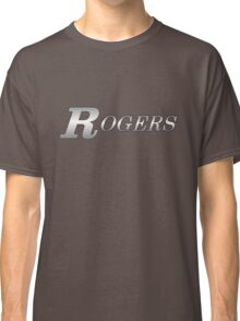 Rogers Drums Silver Classic T-Shirt