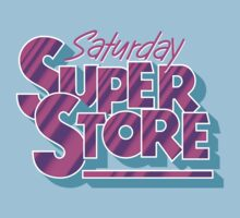 Saturday Superstore Baby Tee