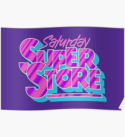 Saturday Superstore Poster
