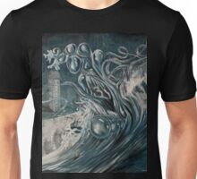 Tsunami In Cornwall Unisex T-Shirt