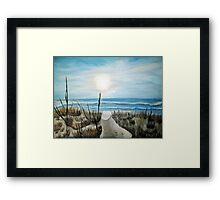 Folly - Folly Beach, South Carolina Framed Print