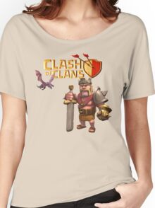 CLASH OF CLANS LOGO 1 Women's Relaxed Fit T-Shirt
