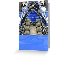 March Ford: Tyrell Formula One Racing Car Greeting Card
