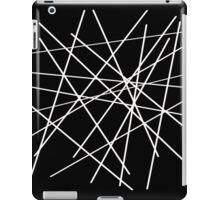 Fallen sticks (white) iPad Case/Skin