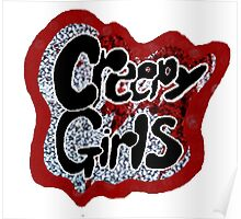 creepy girls ghost towns Poster