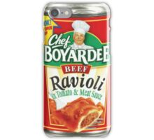 chef boyardee iPhone Case/Skin