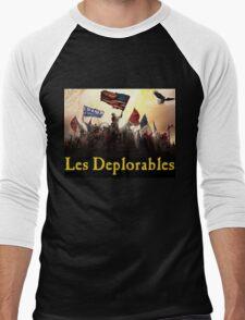 Les Deplorables Gifts For Donald Trump Supporters ! #donaldtrump #deplorables Men's Baseball ¾ T-Shirt