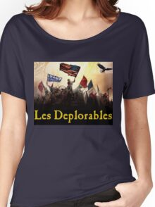 Les Deplorables Gifts For Donald Trump Supporters ! #donaldtrump #deplorables Women's Relaxed Fit T-Shirt
