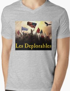 Les Deplorables Gifts For Donald Trump Supporters ! #donaldtrump #deplorables Mens V-Neck T-Shirt