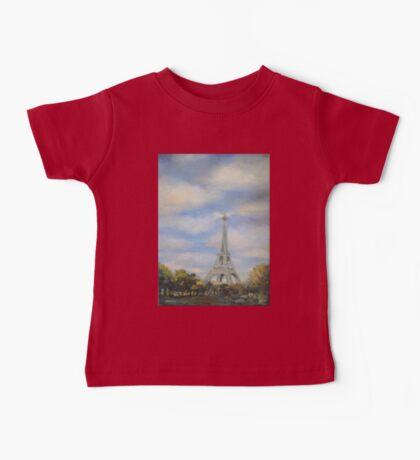 Eifel Tower, oil on canvas Baby Tee