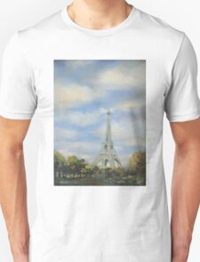 Eifel Tower, oil on canvas T-Shirt