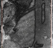 Remnants xvi - pavement photography by Paul Davenport