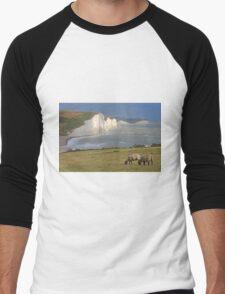 The Seven Sisters- HDR Men's Baseball ¾ T-Shirt