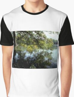 Quiet by the lake Graphic T-Shirt