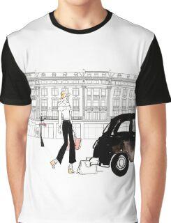 Along Regents Street Graphic T-Shirt
