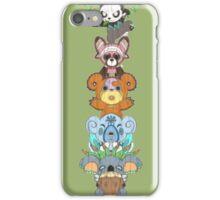 Bear Totem Pole iPhone Case/Skin