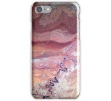 San Juan River and Chinle Creek Utah Satellite Image iPhone Case/Skin