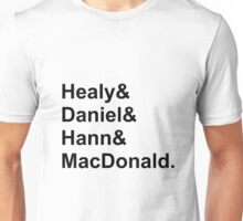 The 1975 Names Unisex T-Shirt