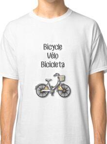 Bicycle / Vélo / Bicicleta Classic T-Shirt