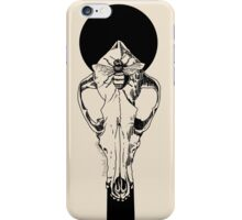 Coyote Skull and Bee Composition iPhone Case/Skin