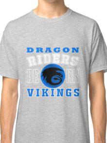 How to train you Dragon (Dragon Riders White) Classic T-Shirt