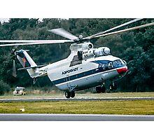 Mil Mi-26 Halo CCCP-06141 Photographic Print