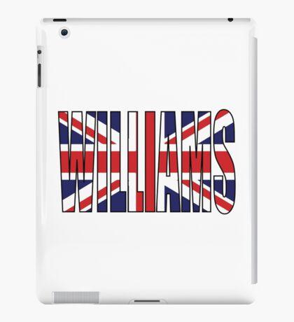 Williams (UK) iPad Case/Skin