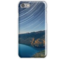 Lake Hawea startrails 1 iPhone Case/Skin