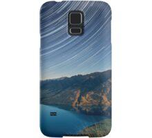 Lake Hawea startrails 1 Samsung Galaxy Case/Skin