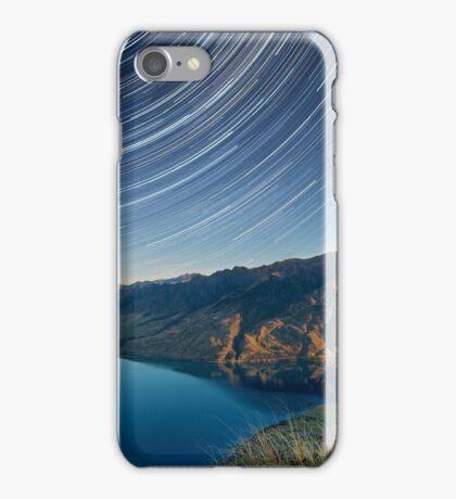 Lake Hawea startrails 1 iPhone Case/Skin