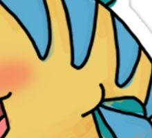 Flounder Sticker