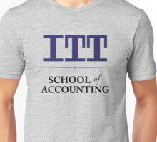 ITT Tech School of Accounting Unisex T-Shirt