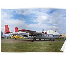 Armstrong Whitworth Argosy C.1 XN817 Poster