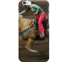 Rodeo Riding A Hurricane iPhone Case/Skin