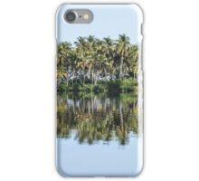 Palm Trees Reflected iPhone Case/Skin