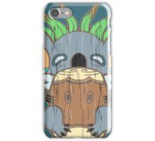 Komala Tiki Bear iPhone Case/Skin
